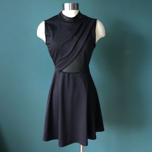LBD with Sheer Insert